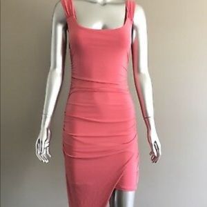 Guess Ruched Body-Con Dress